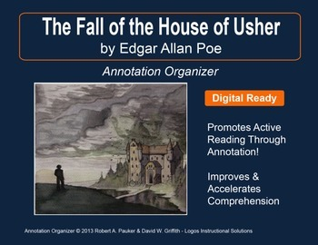 """Fall of the House of Usher"" by Edgar Allan Poe: Annotation Organizer"