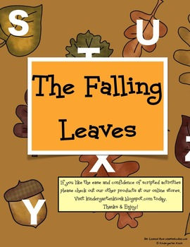 The Falling Leaves Alphabet Fluency Game
