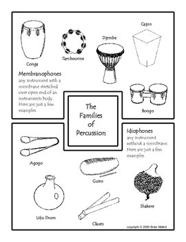 The Families of Percussion