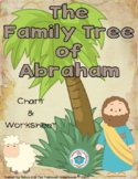 The Family Tree of Abraham Chart and Worksheet