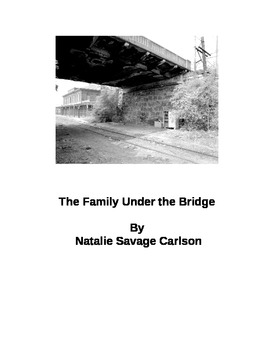 The Family Under THe Bridge reading comprehension worksheet