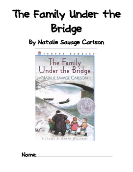 The Family Under the Bridge Literature Packet