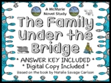 The Family Under the Bridge (Natalie Savage Carlson) Novel Study (30 pages)