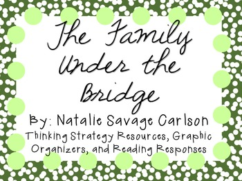 The Family Under the Bridge by Natalie Savage Carlson: Character, Plot, Setting