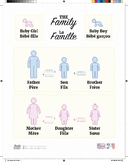 The Family in a French Language Poster