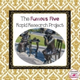 The Famous Five - Canadian History Research Project