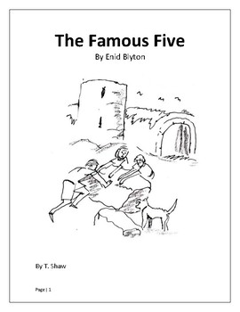 The Famous Five and bonus Swallows and Amazons Literature unit