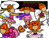 The Fancy Girl Clip Art Pack