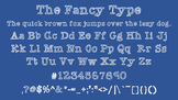 The Fancy Type Font