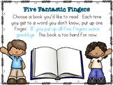 The Fantastic Five Finger Rule Poster
