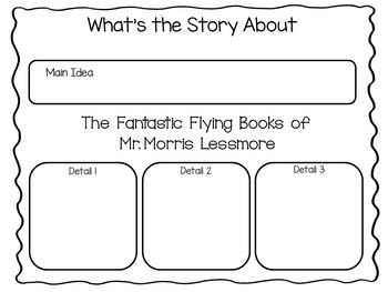The Fantastic Flying Books of Mr. Morris Lessmore 41 pgs C.C. activities