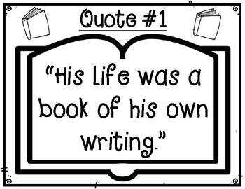 The Fantastic Flying Books of Mr. Morris Lessmore Text Quotes