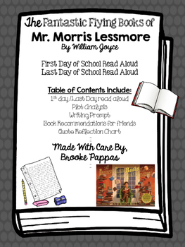 The Fantastic Flying Books or Mr. Morris Lessmore