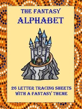 The Fantasy Alphabet Tracing Paper