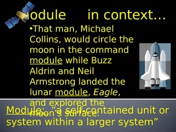 The Far Side of the Moon Vocabulary Power Point Reading Street 2011