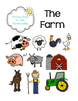 The Farm: A Farm Animal Graphic Bundle