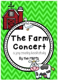 The Farm Concert (A Joy Cowley Book Study)