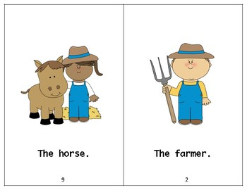 The Farm Book - Guided Reading Level aa/A book