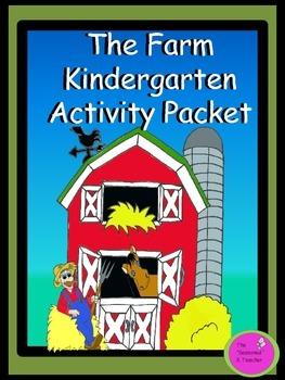 The Farm Kindergarten Activity Packet