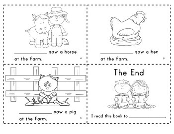 The Farm   Predictable Easy Reader