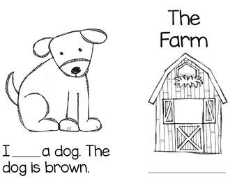 The Farm Sight Word Book