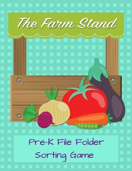 The Farm Stand File Folder Game
