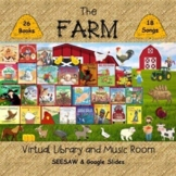 The Farm Virtual Library & Music Room - SEESAW & Google Slides