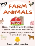 The Farm and Farm Animals Lesson Plans