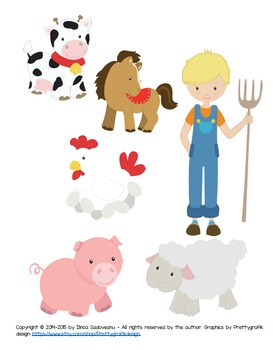 The Farmer - A Song About Farm Animals (for ESOL)