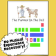 The Farmer In The Dell Color-Coded Easy To Play Piano Song Sheet