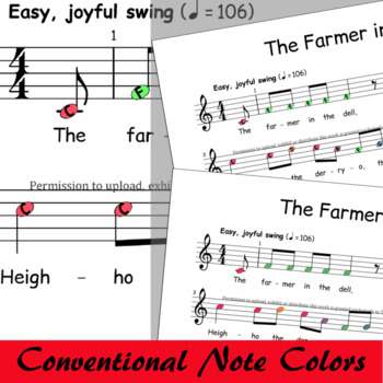 The Farmer In The Dell - Boomwhackers® Song Music Swing