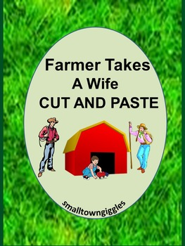 Farm Takes a Wife Cut and Paste Activities Special Education Early Childhood