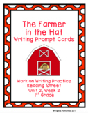 The Farmer and the Hat Writing Prompt Cards (Reading Street 1.2.2)