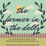 The Farmer in the Dell (Colored Sheet Music)