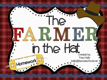 The Farmer in the Hat Homework - Scott Foresman