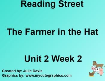 The Farmer in the Hat SmartBoard Companion 1st First Grade