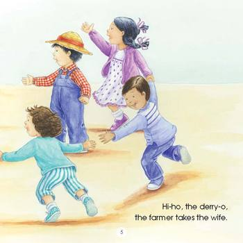 The Farmer & the Dell Read-Along eBook with Audio Track