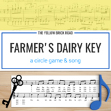 The Farmer's Dairy Key: a circle game and song to teach form