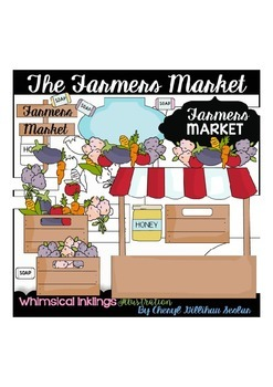 The Farmers Market Clipart Collection