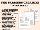 The Farmers Organize worksheet - Populism - US History/APUSH Common Core