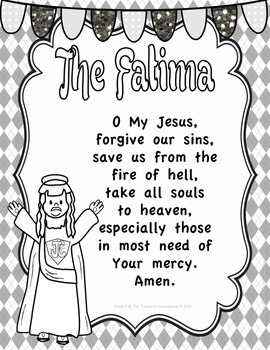 The Fatima Prayer Prayer Pack