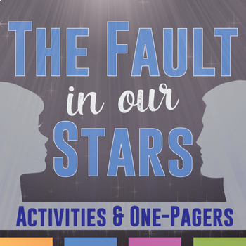 The Fault In Our Stars Activity Bundle