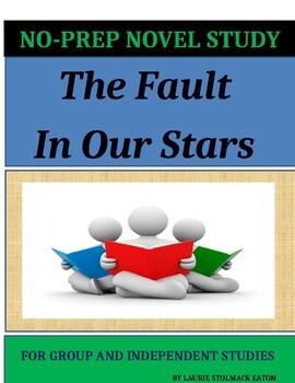 The Fault In Our Stars Novel Study Lesson Plans-John Green