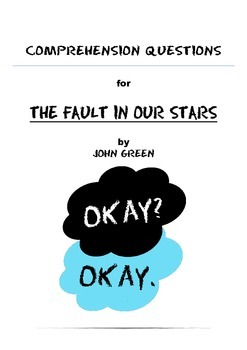 The Fault in Our Stars Activity Booklet