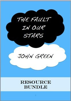 The Fault in Our Stars - John Green ~ RESOURCE BUNDLE