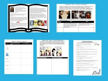 The Fault in Our Stars Unit Handouts for Close Reading