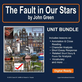 The Fault in Our Stars by John Green: Unit Bundle
