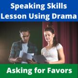 The Favor Microsketch: Learning Pragmatics Through Drama