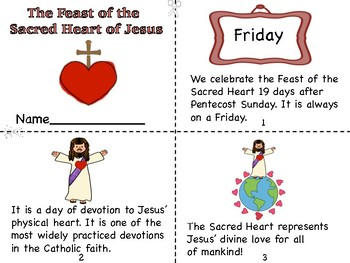 The Feast of The Sacred Heart of Jesus