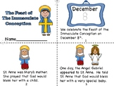 The Feast of the Immaculate Conception Mini Book and Color